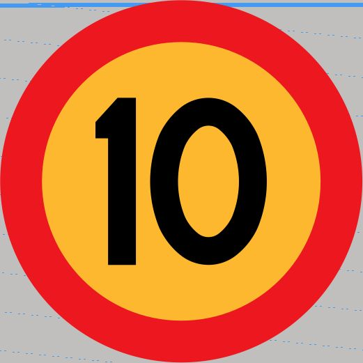 10-skylt